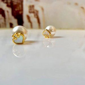 Kate Spade Signature Reversible Pearl Earrings